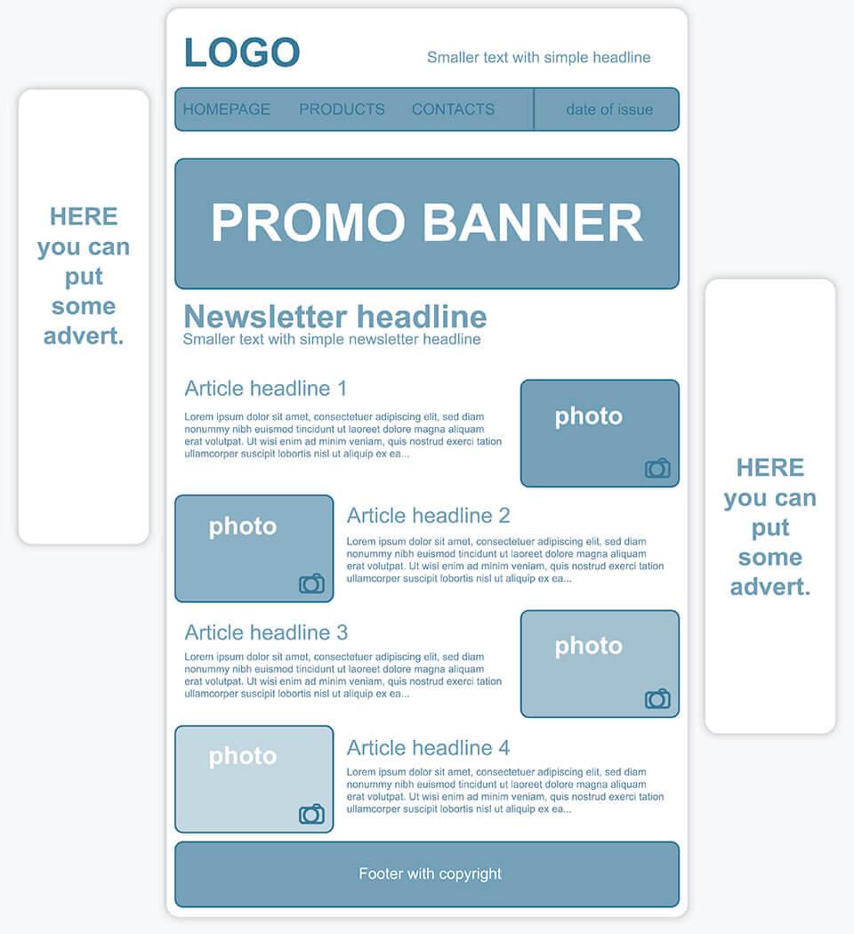 Individuelle Newsletter-Templates erstellen - 1&1