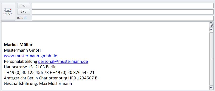 E Mail Signatur Vorlagen Geschaftlich Und Privat Mit Beispiel Ionos