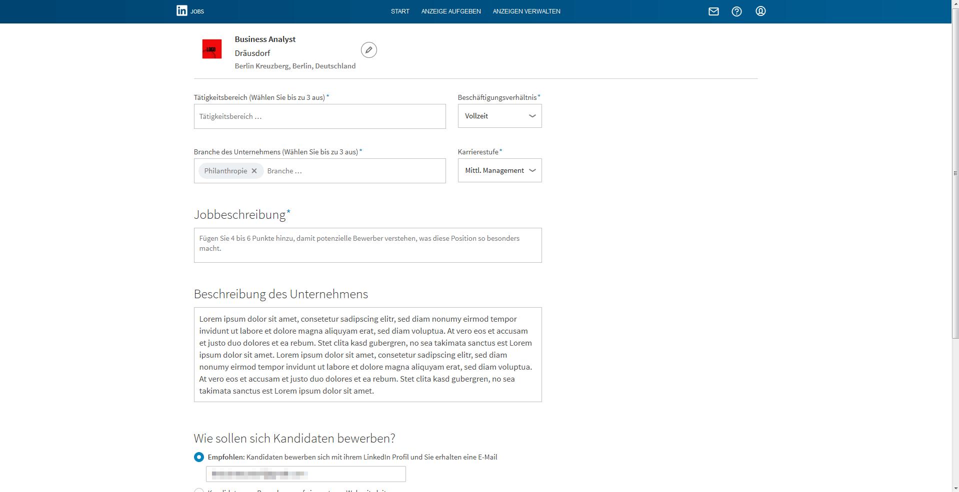 Schön Uploaden Sie Den Lebenslauf In Linkedin Galerie - Entry Level ...