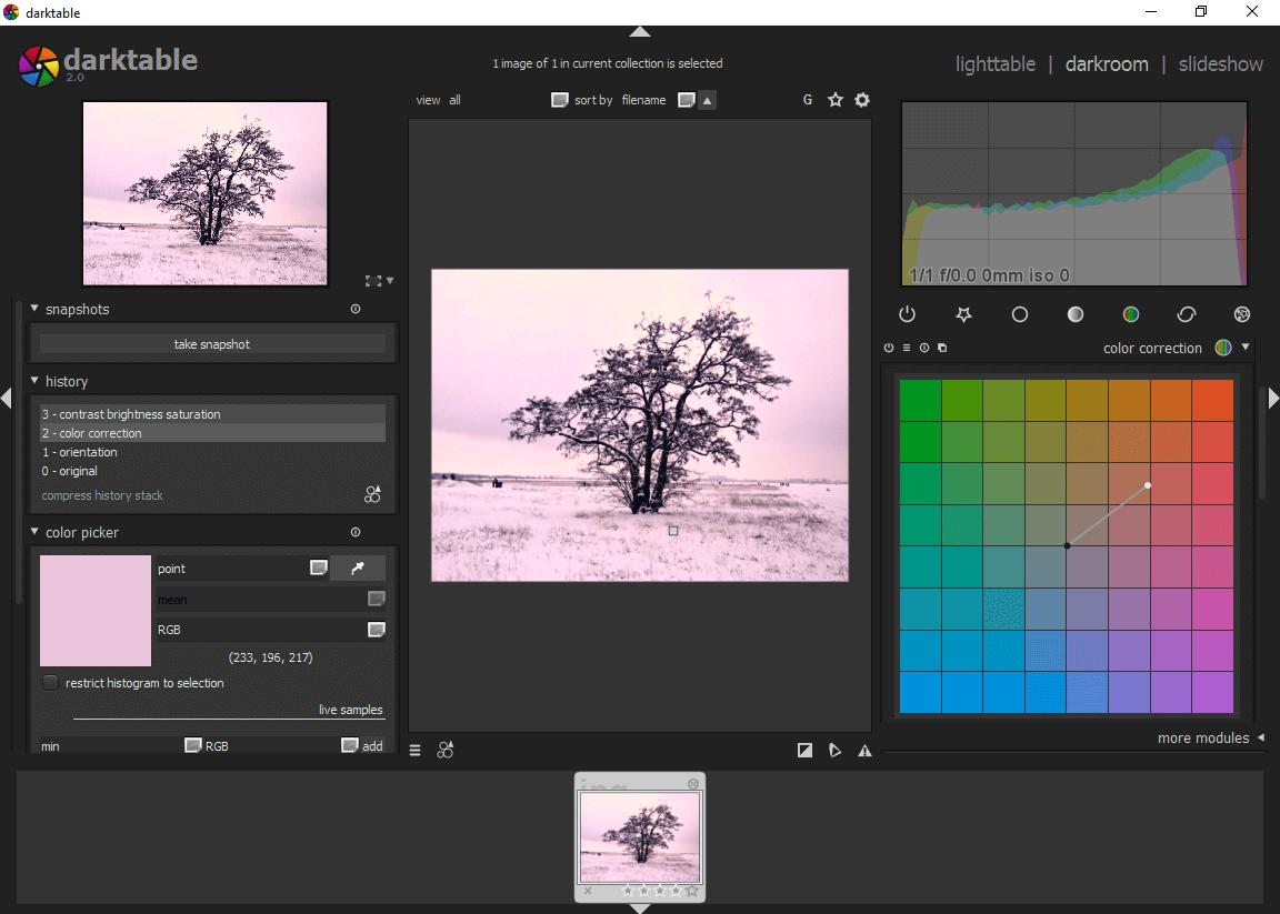 Gratis-Alternativen zu Adobe Lightroom - 1&1