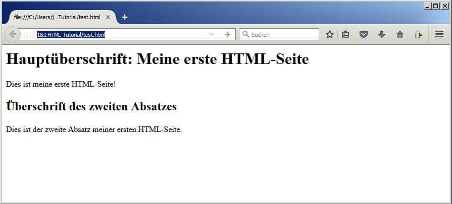 HTML lernen: Das große Einsteiger-Tutorial - 1&1