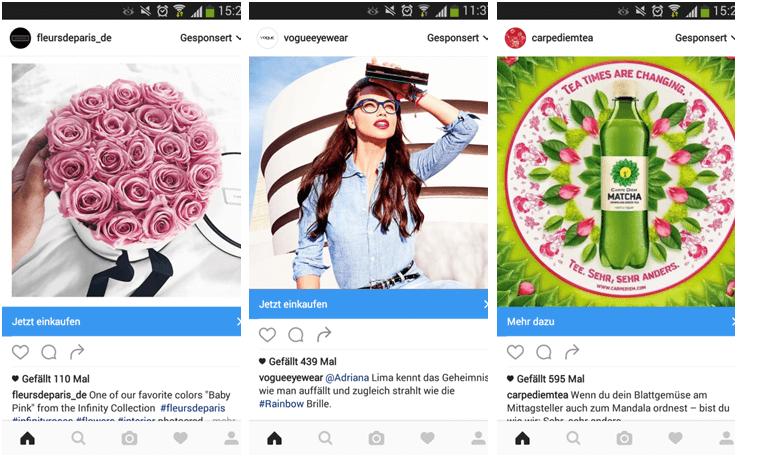 werbung schalten auf instagram instagram ads 1 1 ionos. Black Bedroom Furniture Sets. Home Design Ideas