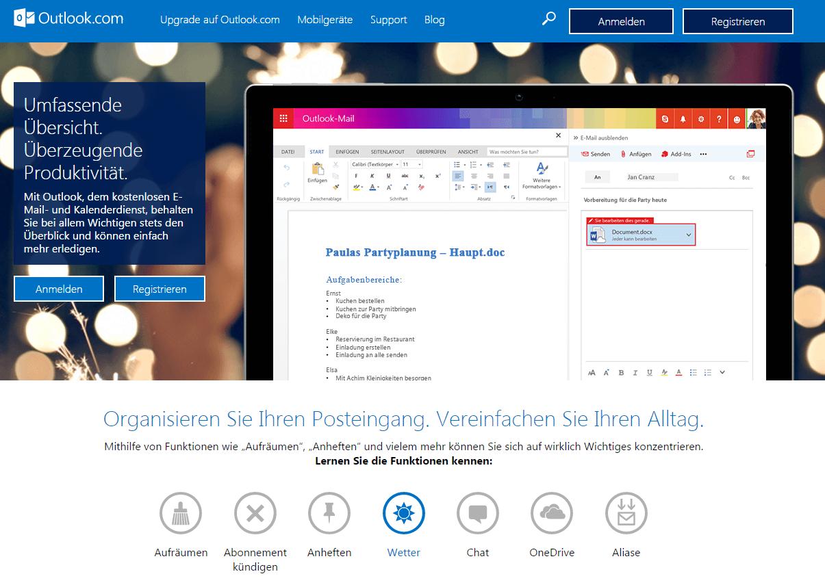 Sicherste Email Anbieter 2020