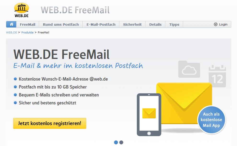 Web.De Email Kostenlos