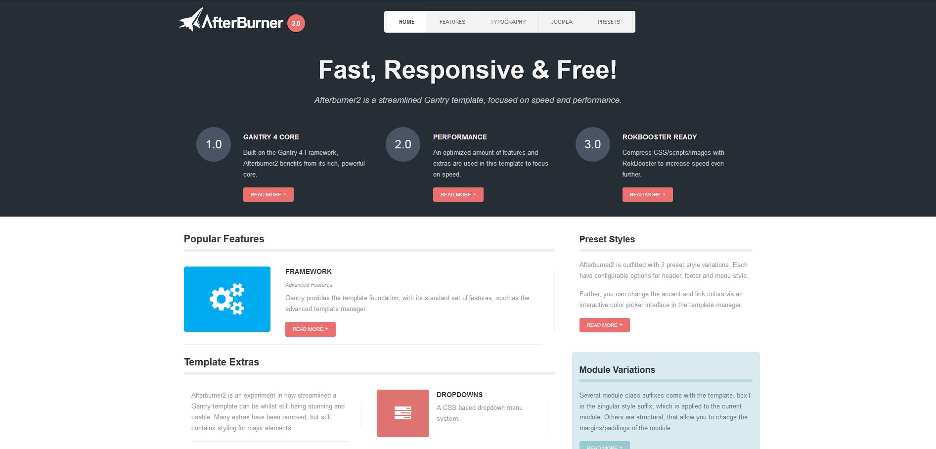 7 Joomale-Templates: Gute kostenlose Joomla-Themes - 1&1