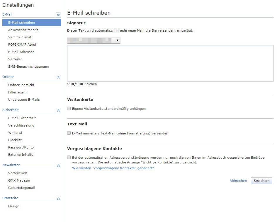 App vorgeschlagene email adressen löschen gmx vorgeschlagene email