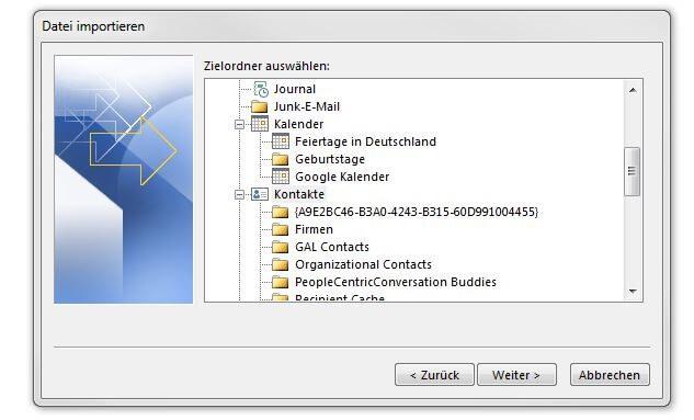 Outlook Kontakte Importieren So Funktioniert S Ionos