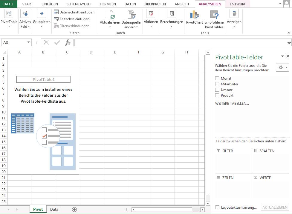 Pivot Tabelle - So erstellen Sie Pivot-Tabellen in Excel! - 1&1
