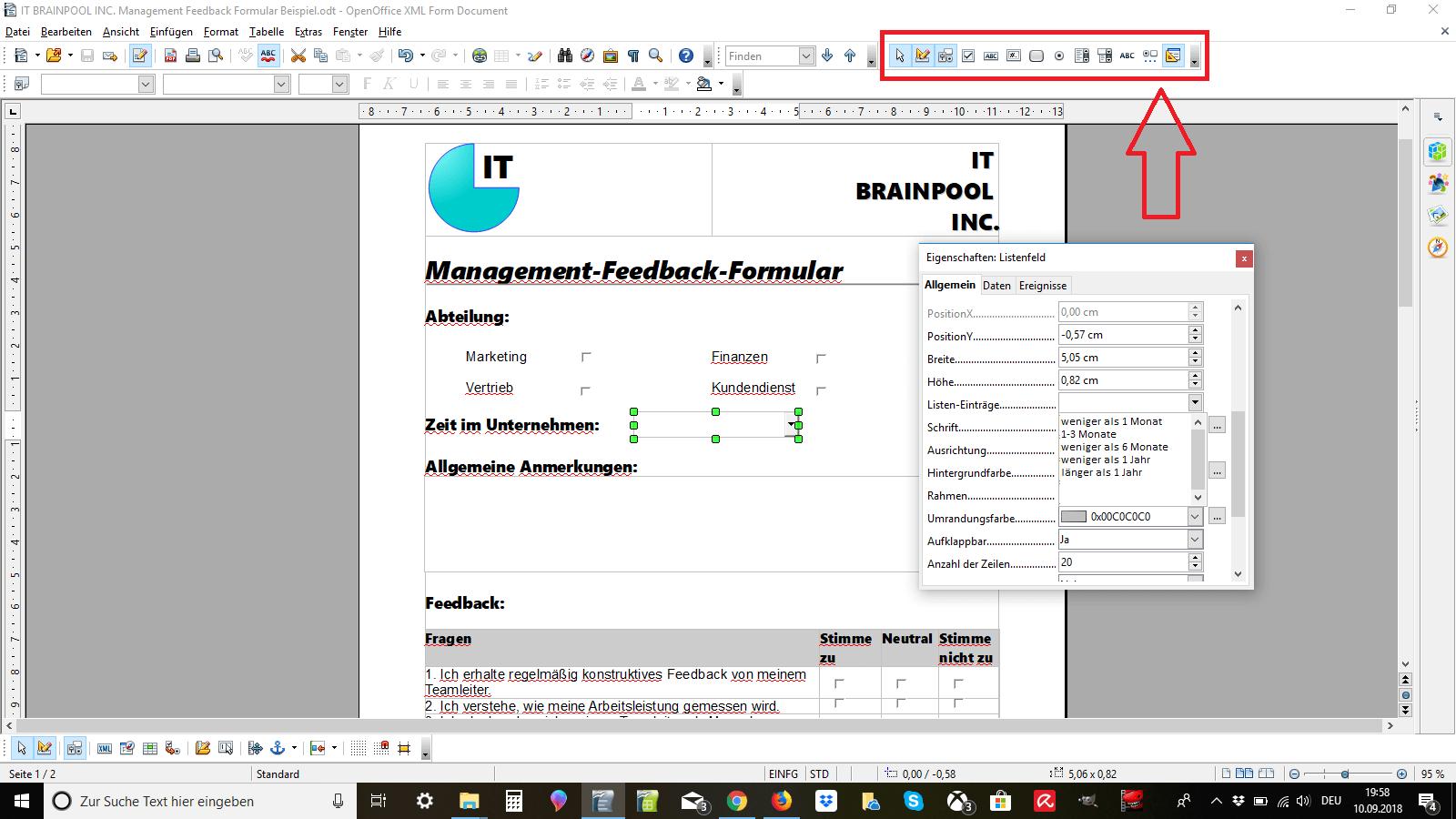 Ausfüllbares PDF-Formular erstellen | Anleitung - 1&1