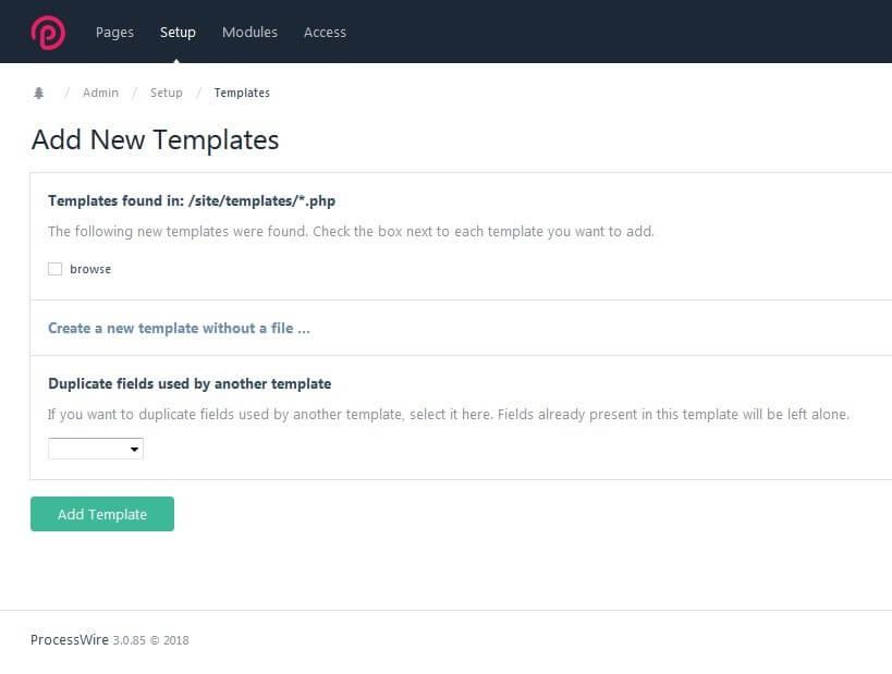 ProcessWire: CMS Vorstellung, Templates & Tutorial - 1&1