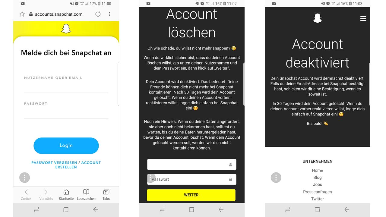 Spin De Account Löschen