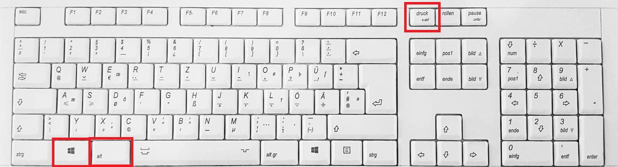 screenshot on windows 7 laptop