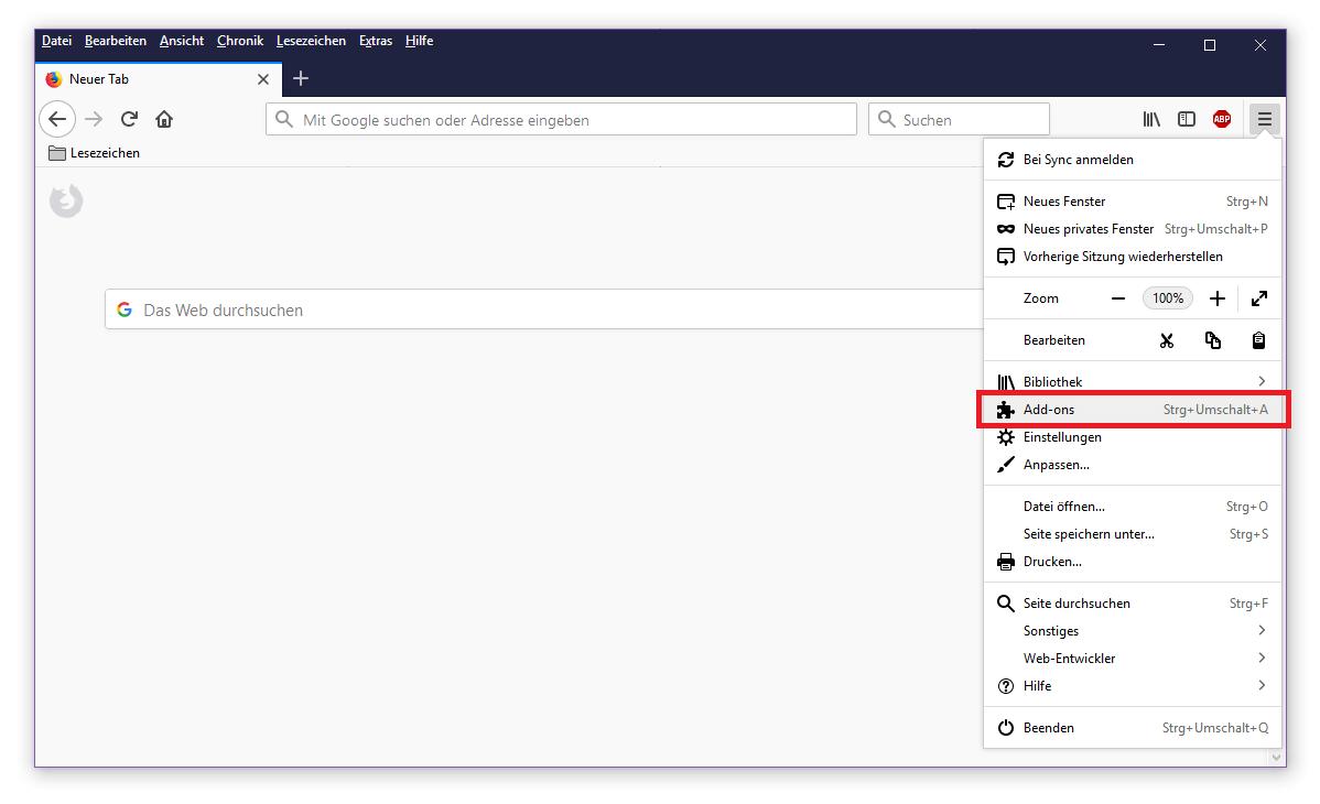 Adblocker Firefox Deaktivieren