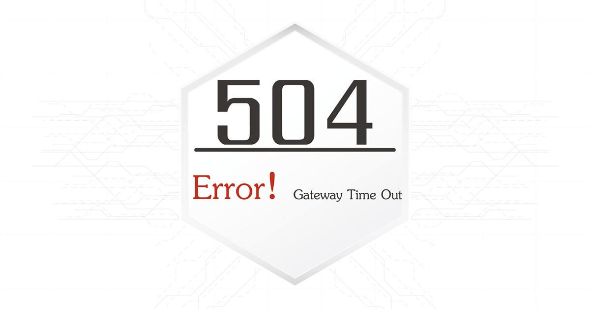 504 Gateway Timeout: So lösen Sie den HTTP Error 504 - 1&1