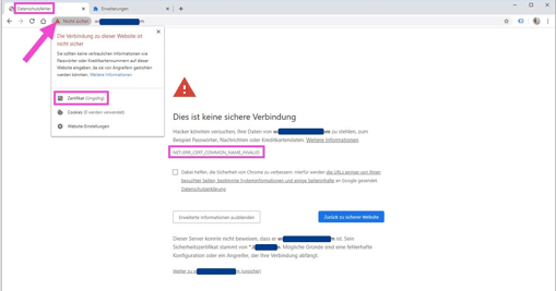 ERR_CERT_COMMON_NAME_INVALID