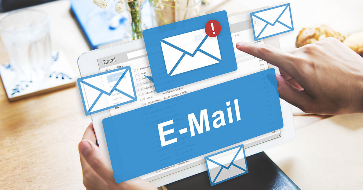 Eröffnung von E-Mail-Beispielen