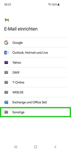 E-Mail-Konto auf Android-Smartphone einrichten - IONOS Hilfe