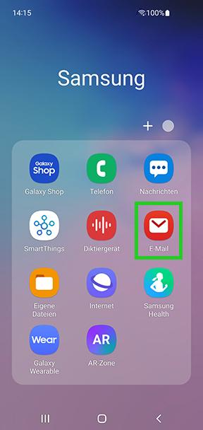 E-Mail-Konto auf Android-Smartphone einrichten (Samsung) - IONOS Hilfe