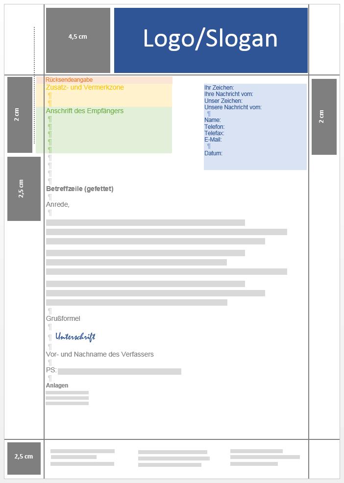 Geschäftsbrief Aufbau Inhalt Und Gestaltung Ionos